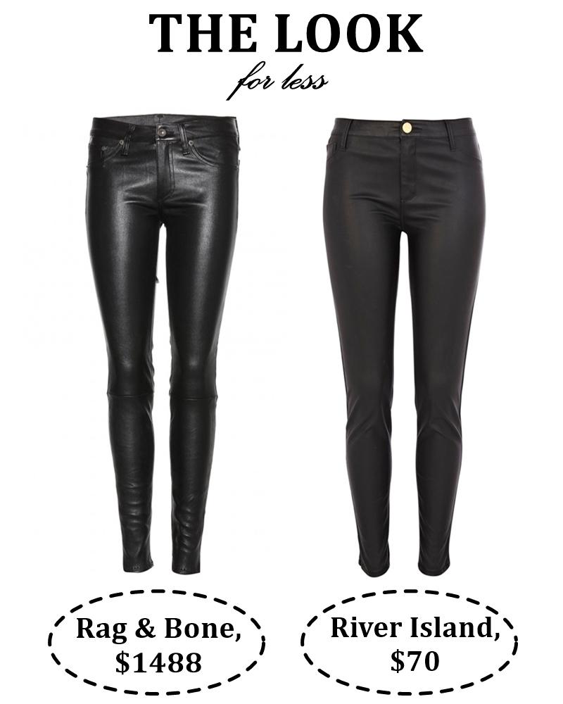 leather pants FINISH