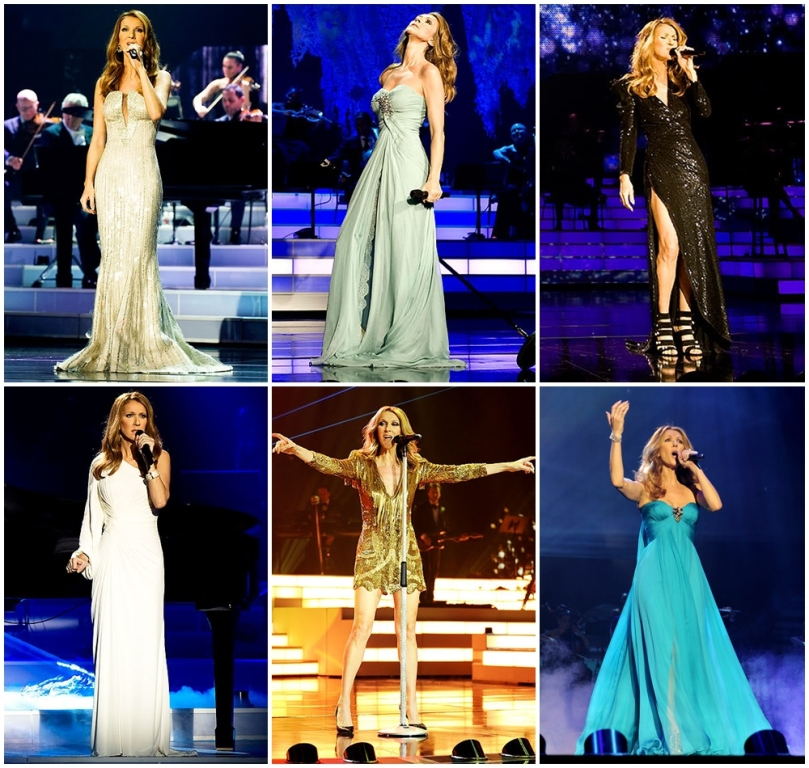 Photos courtesy of http://www.celinedion.com/